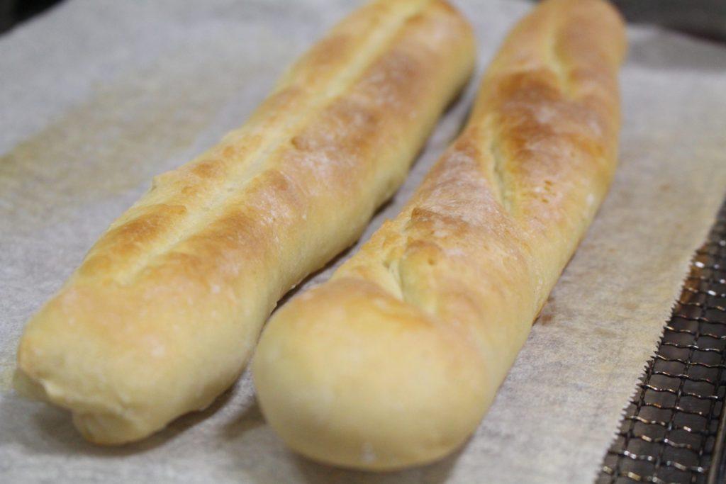 フランスパン完成