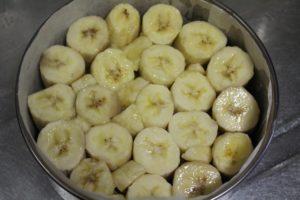 バナナ敷く
