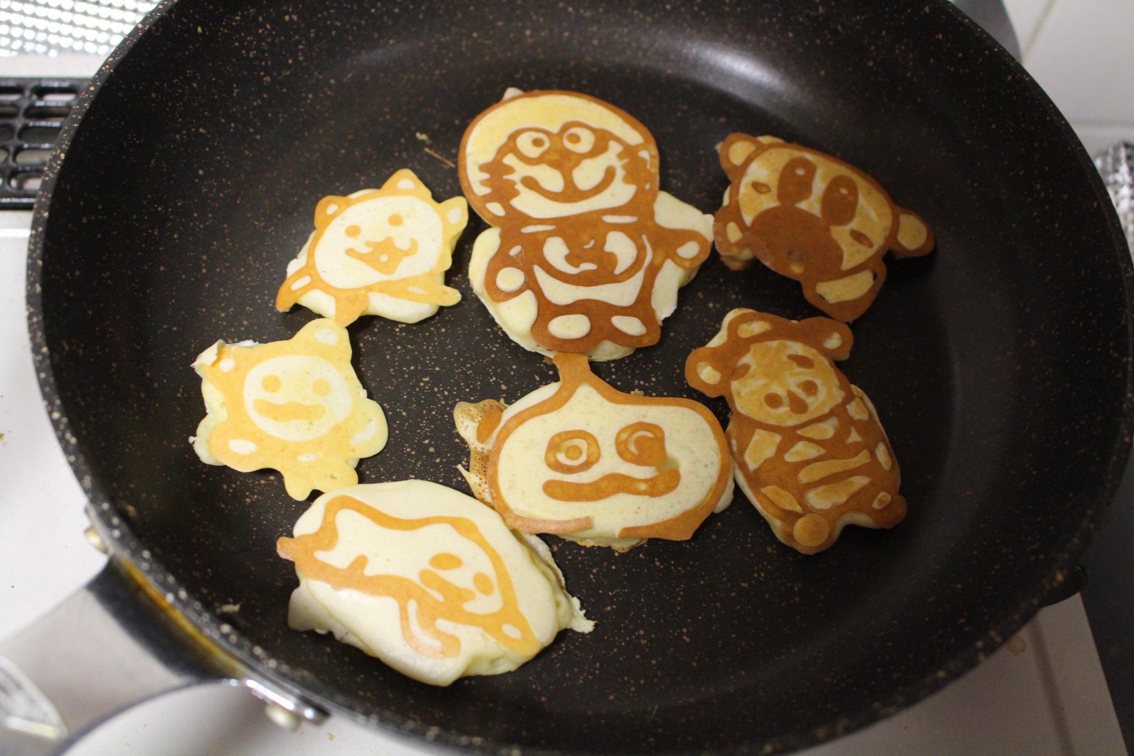 パンケーキアート2